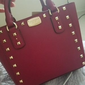 8800ce4a1a4afb Michael Kors Bags   Sold Nwt Mk Sabrina Stud Small Crossbody   Poshmark